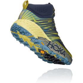 Hoka One One Speedgoat 2 GTX Mid Shoes Men, ombre blue/blue sheen